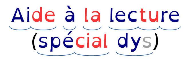 Faciliter la lecture des dyslexiques