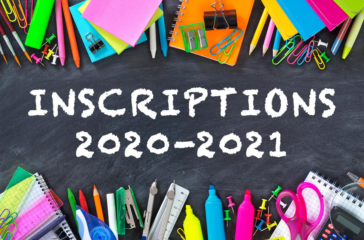 Inscriptions e-orthophonie* 2020-2021