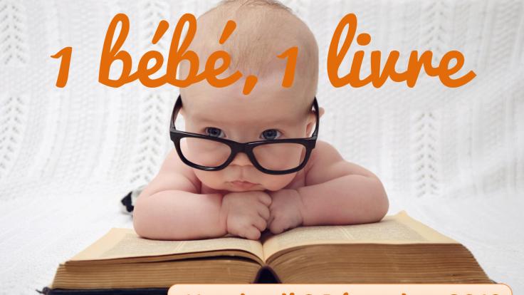 """Opération """"Un bébé un livre"""""""